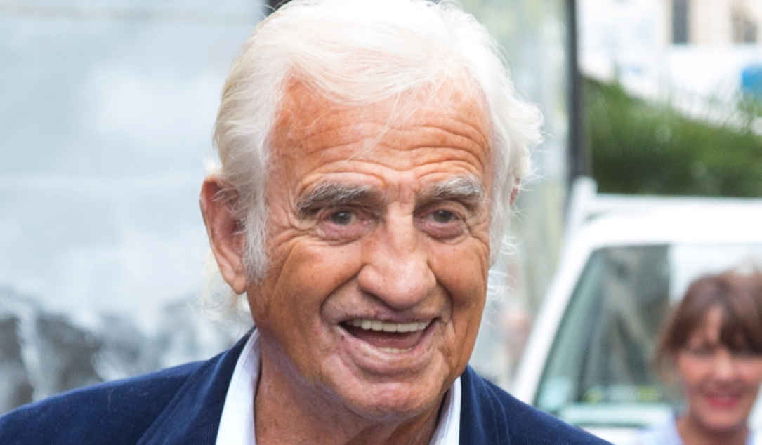 Jean-Paul Belmondo in Paris.