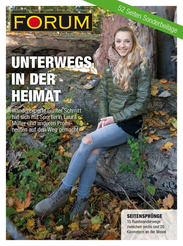 Cover Unterwegs in der Heimat