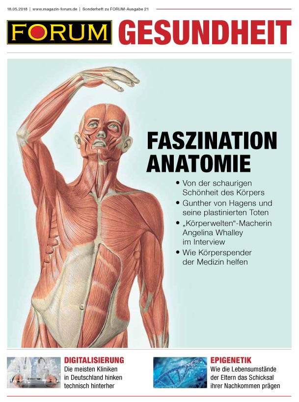Cover Faszination Anatomie