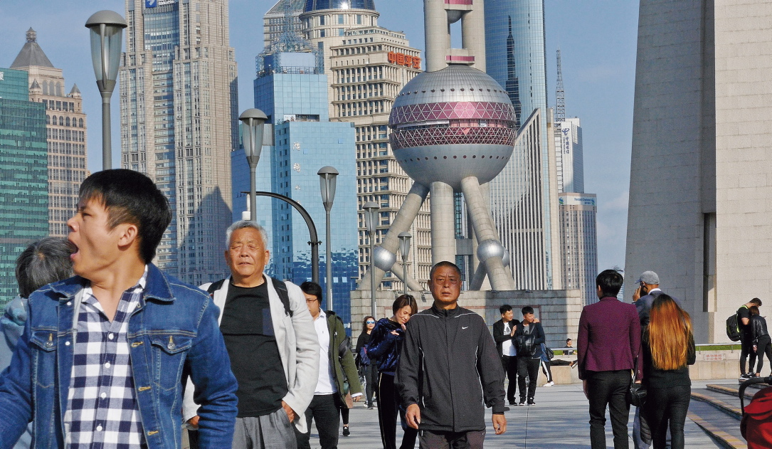 Die Handelsmetropole Shanghai sucht nach Know-how in Europa.