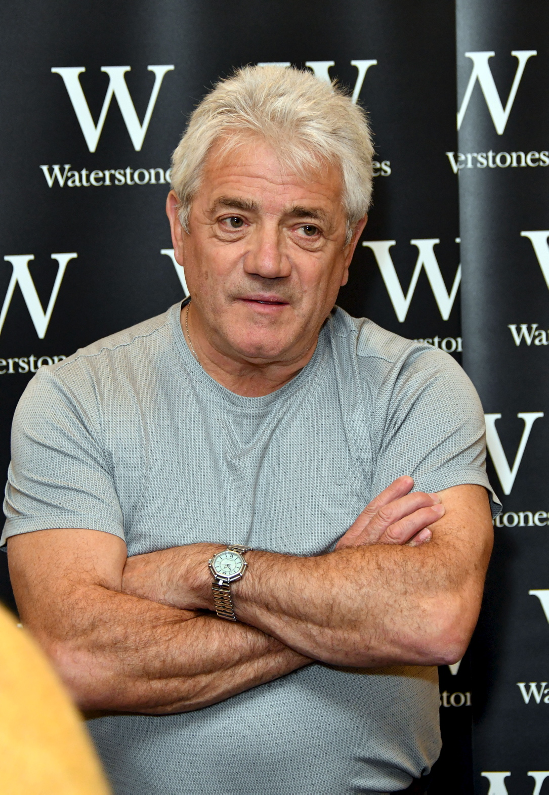 "Kevin Keegan signierte im Herbst 2018 in London seine Autobiografie ""My Life in Football"""