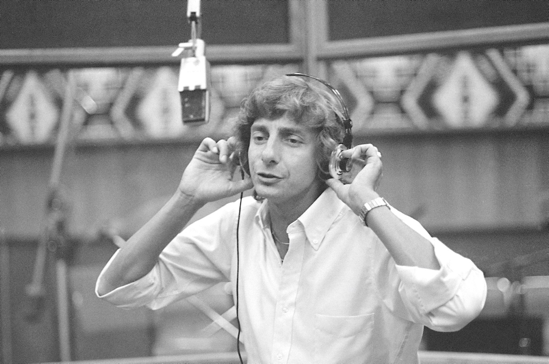 Barry Manilow 1981 in einem Studio in Kalifornien.