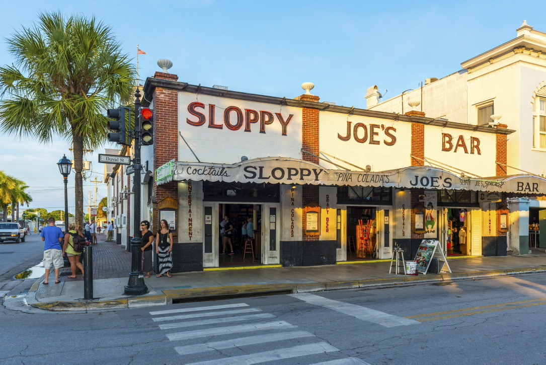 "Die legendäre Bar ""Sloppy Joe's""."