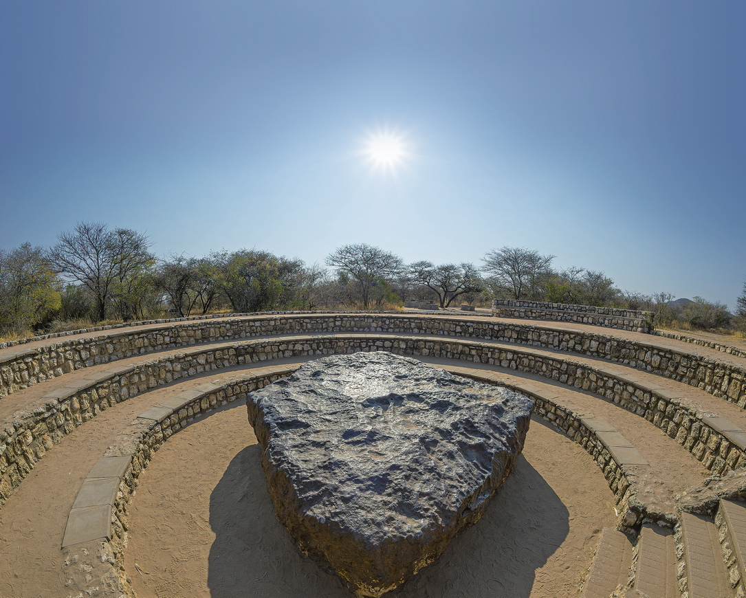 Hoba-Meteorit in Namibia
