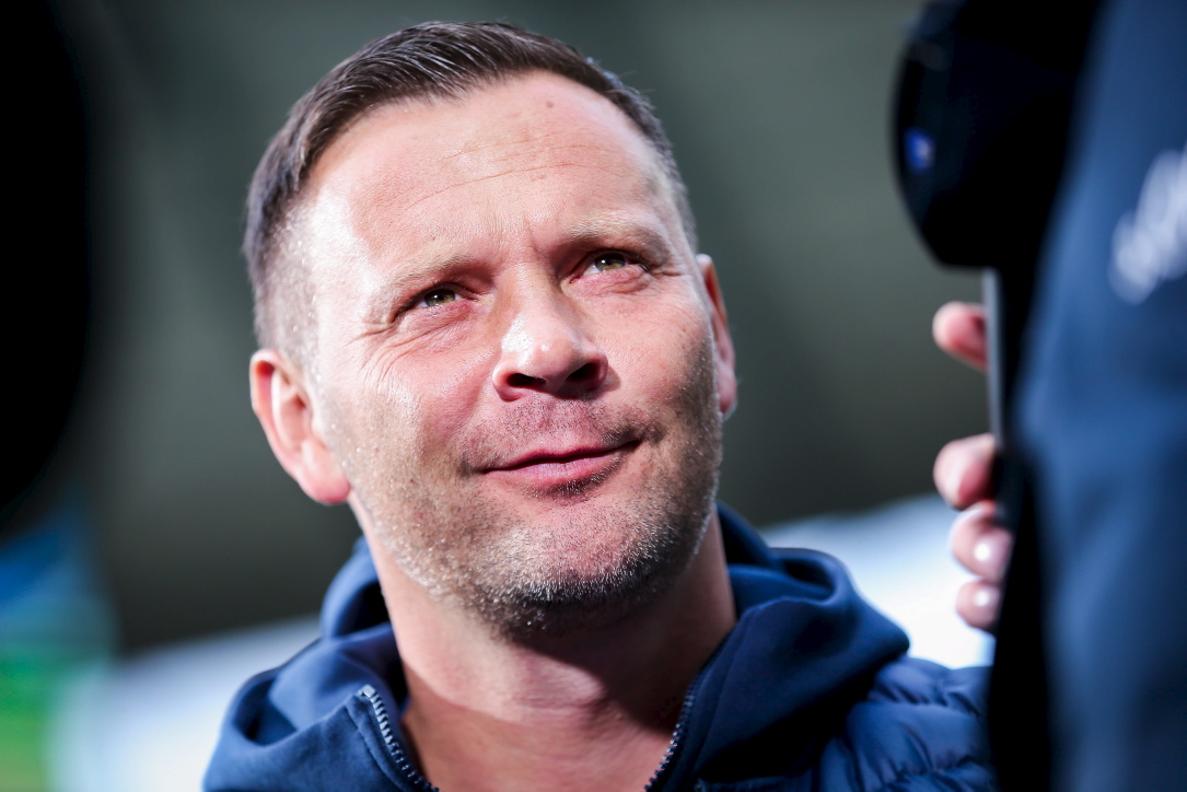 Zufrieden: Hertha-Coach Pal Dardai.