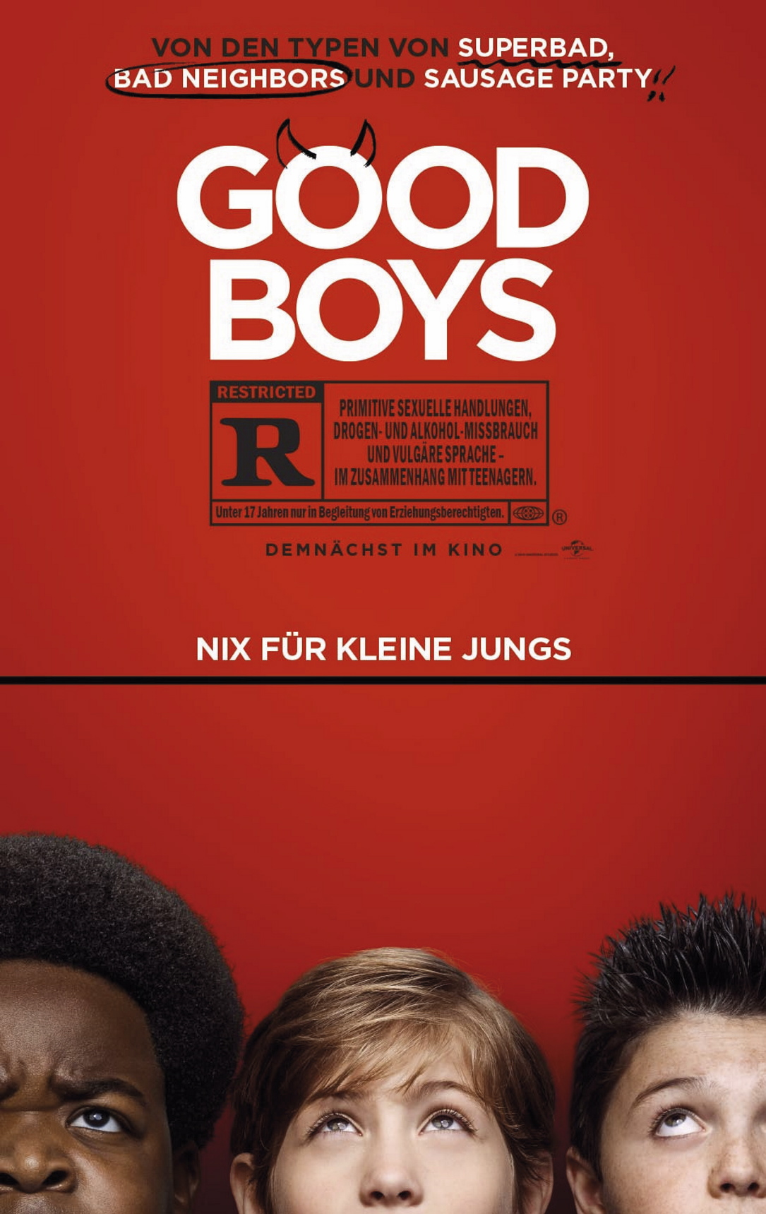 "Die Komödie ""Good boys"" startet am 22. August in den deutschen Kinos."